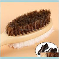 Housekeeping Organization Garden Useful 2 Side Shoe Brush And Rubber Home Suede Shoes Leather Polishing Brushes Boot Cleaner Cleaning Tool C