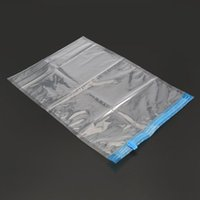 Borsa compressa manualmente sottovuoto Roll Up Seal Borse da viaggio Spazio Spazio Saver Stoccaggio Abiti da stoccaggio Organizzatore Imballaggio riutilizzabile Sacchi di imballaggio