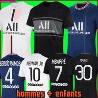 Maillots دي مجموعات كرة القدم 20 21 جيرسي لكرة القدم 2020 2021 MBAPPE ICARDI NEYMAR قميص JR الرجال الاطفال مجموعات موحدة مايوه دي البشر القدم منظمة أطفال