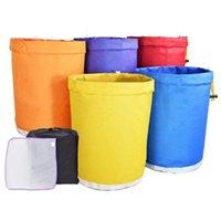 Planters Pots Potslife Garden 1 갤런 5PC 컬러 식물 종자 필터 가방 버킷 버블 해시 얼음 에센스 추출기 키트 가방