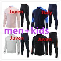 2021 2022 Juve Bracksuit Soccer Training Suit 20/21 Kids and Adult Chandlal Futbol كرة القدم الرياضة الركض ارتداء الرجال ...