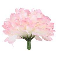 Decorative Flowers & Wreaths 30x Carnations Craft Artificial Flower Silk Spherical Heads Wedding Decor - Light Pink