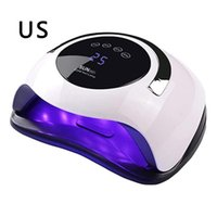 Nail Dryers General Purpose Smart Button Timing Lamp For Both Hands Induction Led Machine Polish Dryer Quick Dry 120W