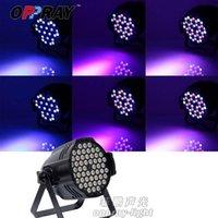 LED 54X3W RGBW داخلي par dmx512 غسل تأثير الضوء ل dj ktv شريط nightuculb الزفاف