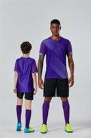 Kinder Erwachsene Trikots Fußball Jungen Fußball Uniform Fußball Jersey Set Jugend Uniform Fußball Sportswear Kit Shorts DIY Benutzerdefinierte K8827