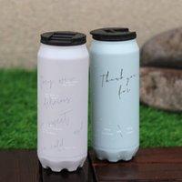 17oz cola può bottiglia d'acqua in acciaio inox bottiglie d'acqua in acciaio inox tazza da caffè sottovuoto a doppia parete a doppia parete tumbler all'aperto moda soda può DBC BH3220