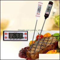 온도계 일광 홈 Gardendigital Food 요리 온도계 프로브 고기 가정용 개최 기능 주방 LCD 게이지 펜 바베큐 그릴 사탕