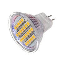 Ampoules 1PCS 24LÉS SUPPORT D'ÉNERGIE Spotlight AC / DC12V 1.5W Lampe Lampe Ampoule MR11 SMD3528 Chaud Blanc / Pure Blanc