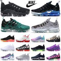 vapormax plus tn vapors vapor max جديد TN بالإضافة إلى رجلبخارالاحتفال أحذية الرجال نساء أوروور مدربين كل أحمر أسود هايبر الأزرق النسائية الرياضة رياضة ماكس حجم 36-47