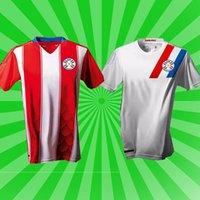 باراجواي الوطنية كوبا América كرة القدم فريق 2021 كرة القدم جيرسي المنزل الأحمر بعيدا الأبيض الفانيلة hombres camisetas دي fútbol الرجال القمصان الزي الرسمي