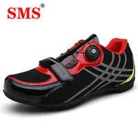 Cycling shoes SMS men's bicycle shoes, double button sports breathable and bright, suitable for professional 210901