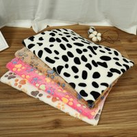 dog blanket pet throws pet Flannel blanket Super Soft Fluffy Premium Fleece Dog paw print Blankets Puppy Cat 3 colors 1887 V2