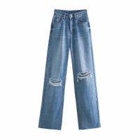 Jeans bbwm donna vita alta vestiti vestiti denim abbigliamento blu streetwear vintage qualità foro moda harajuku pantaloni dritti