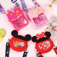 Tiktok Fidget Sensory Bubble Bretelle Shoulder Bag Cellphone Straps Finger Push Phone Pouch Case Change Coin Purse Decompression Unicorn Toys