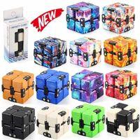 Infinity Magic Cube Creative Galaxy Fitaget Giocattoli AntiTistress Ufficio Flip Puzzle cubico Mini Blocchi Decompressione Giocattolo DHL 3-7 giorni consegna CY15