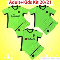 الكبار + Kids Kit 2021 MLS SOCER JERSEYS LA Galaxy Inter Miami Lafc Los Angeles بنين تناسب الطفل مجموعة Atlanta United Goalkeeper كرة القدم قميص أعلى موحدة
