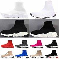 2018 Sıcak Yeni Hız Çorap Yüksek Kalite Hız Trainer Ayakkabı Erkekler Ve Kadınlar Için Ayakkabı Hız Streç Örgü Ayakkabı Orta Rahat Ayakkabı Boyutu EUR 36-47 T5-B3