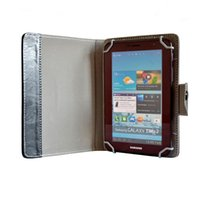 Best 7 8 9 10 inch Multi-color Leather Case Flip Cover Built-in Card Buckled Universal Leather Tablet Case for Tablet PC