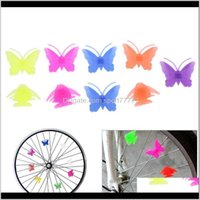 Outils Maintenance Sports à l'extérieur Drop Drop Livraison 2021 Plastique coloré Multi-Color Vélo Vélo Cyclisme Vélo attrayant Roue Stars Beads D