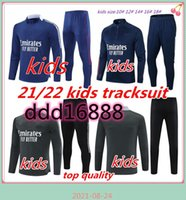 X Kids Tracksuit Soccer 20 21 22 Kit Maillot de Football Aouar Denbele Memphis Treinamento Terno Conjunto de Criança