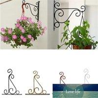 Pflanzenständer Blume Topf Haken Halter Schmiedeeisen Anhänger Pflanze Ständer Blume Topf Haken Rahmen Gartendekoration