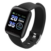 Smart Watch 116 Plus Health Wristband Sports watches Blood Pressure Heart Rate Pedometer Fitness Tracker Bracelet