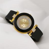 Designer montre de marque montre de luxe montre hes femmes minimalistes design silicone bracelet bracelet gros cadran de mode femme créatif