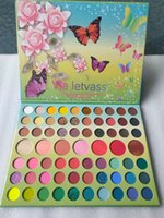 Trucco Via LetVass 67Colors Eye Shadow Palette Glitter Shimmer Matte luminoso