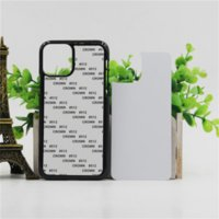 Blank 2D Sublimation TPU PC phone Cases for iPhone 12 mini 11 Pro Max SE 8 8plus X xr xs with Aluminum Inserts