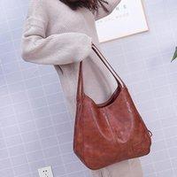 Evening Bags 2021 Vintage Womens Hand Designers Luxury Handbags Women Shoulder Female Top-handle Fashion Brand