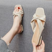 Sandals Summer women's sandals fashion designer outdoor leisure slippers With low shoes for women lowflat mules OCMI