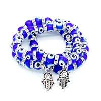 Lucky Head Strands с бисером подвесные браслеты ручной работы бусины эластичные браслеты унисекс женщины мужчины мода ювелирные изделия