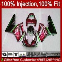 OEM-Spritzgussform für Triumph Daytona 675 R 675R 2002 2003 2004 2005 06 07 08 Körper 106HC.117 Metallic Red Daytona 675 Daytona675 02 03 04 05 2006 2007 2008 Volle Verkleidung