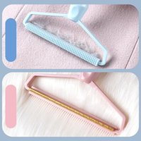 2 in 1 Clothe Hair Ball Brushes Manual Stripper Household Clothes Cleaning Tools Pet Grooming Brush sea ship