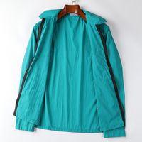 10802 Giacca Naslan Fashion Summer Solid Light Giacche da uomo Giacche da sole Zipper Zipper Coat Coat Allentato Casual coppia all'aperto OLDHIRT BRECK M-2XL
