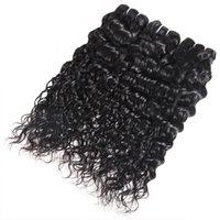 Ishow Malaysian Virgin Hair Extensions Eau droite 10 PCS PCS Peruvian Corps Vague Lâche En Gros Indien Bonds de cheveux humains pour femmes Tous les âges