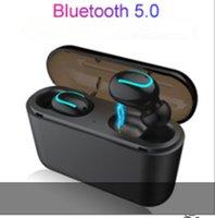 Wirless Earphone earphones Chip Transparency Metal Rename GPS Wireless Charging Bluetooth Headphones Generation In-Ear Detection For Cell Phone