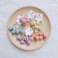Haarschmuck Jede Farbe 10pcs / Tasche Kinderring Einfache Plaid Kugel Seil Baby Krawatte Gummiband Kleine Mädchen Kopfschmuck