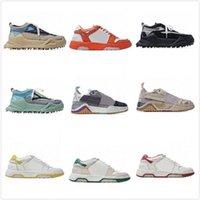 Off Moda Scarpe Casual Sneakers Cuciture Colore Black Calzature Bottoms Sharp White Donne Designer Street Uomini Odsy-1000 Arrow Corner S Xhak