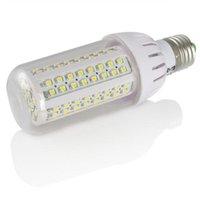 4xe27 6W 108 светодиодов SMD3528 Кукурузная лампочка теплый белый / прохладный белый свет 600LM оптом продвижение Продажа Светодиодные лампы