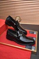 새로운 도착 2021 남자 패션 신랑 웨딩 정품 가죽 공식 파티 드레스 신발 브랜드 비즈니스 캐주얼 플랫 크기 38-45