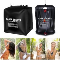 Hydration Packs 20L 40L Shower Bag Portable Folding Solar Heated Waterproof Outdoor Camping Travel Hiking Hand Water Bags For Bathe