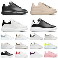 حذاء إسبادريل بتصميم غير رسمي مسطح لعام 2021 حذاء إسبادريل للرجال والنساء من الجلد كبير الحجم أسود وأبيض فاخر رياضي 36-44 يورو