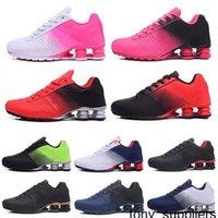 2021 Nuove Donne Avenue Sports Scarpe da corsa Nero Cuscino rosso NZ Trainer Sneakers Grigio Jogging Tennies Scarpa