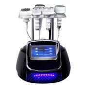 Body Sculpt Minceur Multi-fonctionnel Equipment Ultrasound Cavitation RF Vacuum FAT Réduire la perte de poids Machine de formes de massage
