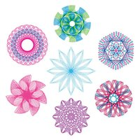 Multi-function Painting Puzzle Spirograph Geometric Ruler Drafting Tools For Students Drawing Toys Children Learning Art Tool 1049 Y2