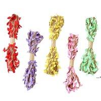 3m 10m navidad fiesta de halloween decoración artificial hoja natural hessian jute cuerda cuerda arpillera cinta bricolaje arte vintage fwb9796