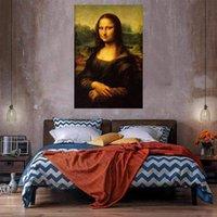 Mona Lisa Home Decor Огромная живопись масляной живописи на холсте Handpainted / HD-печать настенные картинки настроек допустимы 21051204