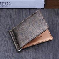 Card Holders 1pc Fashion PU Leather Luxury Wallet Short Male Purses Money Clip Casual Soild Men Wallets Billetera