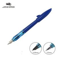 Jinhao squalo fontana penna calligrafia penna penna penna Pluma Studente cancelleria Caneta Tinteiro Fuente Stylo Plume Personalizza logo
